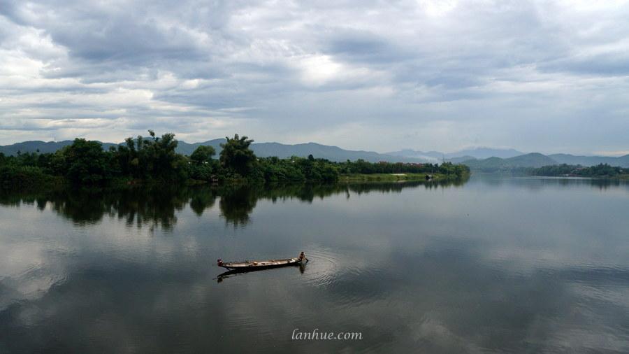 Hương River in Huế City