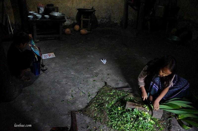 Ở trọ nhà bác Già ở Lũng Cẩm, Hà Giang