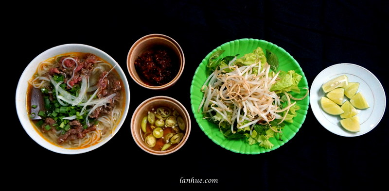 Bún bò - Huế people's all time favorite breakfast