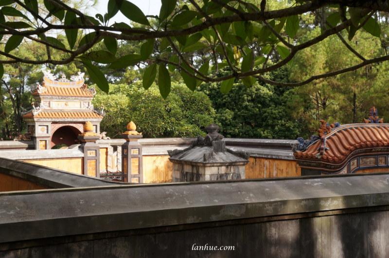 The tomb of Khiêm Thọ
