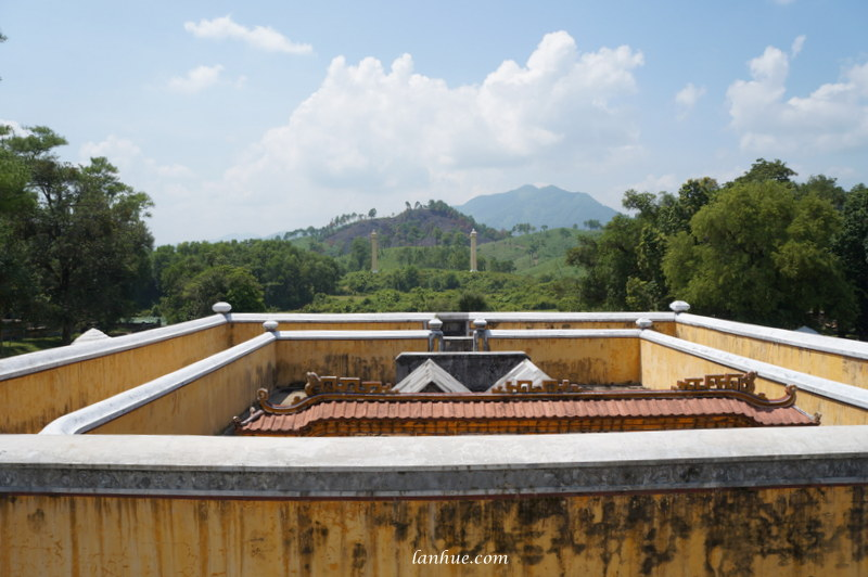 Emperor Gia Long and his queen's tombs