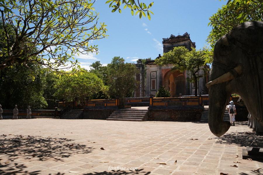 Khiêm Lăng, Emperor Tự Đức's tomb