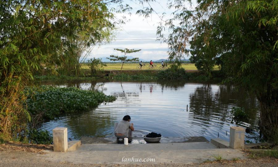 Như Ý River in Huế