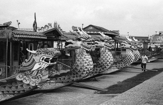 lan hue, dragon boat, toa kham boat quay